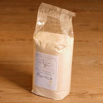 Farina di grano tenero Maiorca integrale macinato a pietra