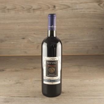 "Vino Rosso IGP Salento Primitivo ""Nivvro"""
