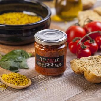 Condifriscous di pomodoro secco Petramarè ® in olio extravergine di oliva