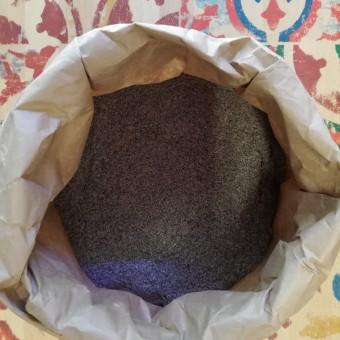 Farina di riso venere integrale macinata a pietra