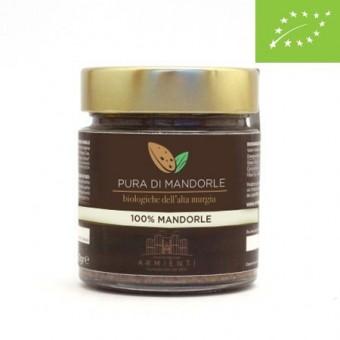 Crema Pura di Mandorle Biologiche - Armienti Bio - 100 g