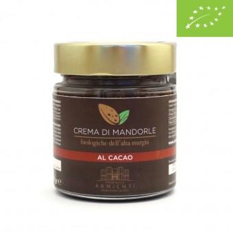 Crema Cacao e Mandorle Biologiche - Armienti Bio - 100 g