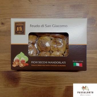 Fichi Secchi Mandorlati - 380g- Feudo San Giacomo