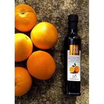 Olio extravergine di oliva aromatizzato all'Arancia